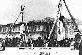 Armeni impiccati