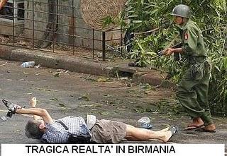 Tragedia in Birmania