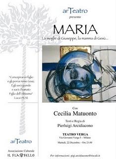 Locandina Maria Verga