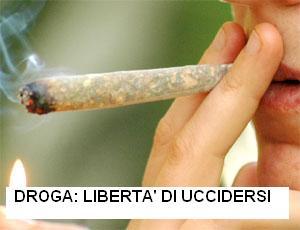 Droga: libertà di uccidersi