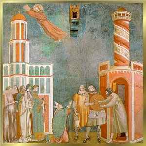 S. Francesco e L'eretico