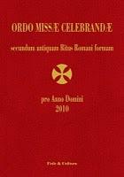Ordo Missae Celebradae pro anno domini 2010