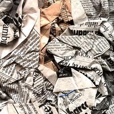 giornali da buttare