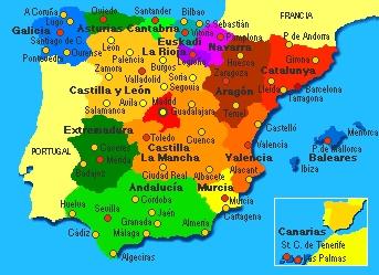 Regioni Spagna Cartina Politica.La Crisi Degli Stati E L Insorgenza Nazionalitaria Parte Ii Di Roberto Pecchioli Ricognizioni