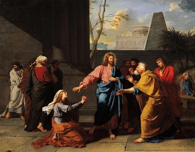 Gesù e la donna cananea – di Carla D'Agostino Ungaretti – Ricognizioni